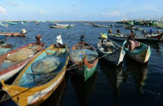 Representational image: Indian fishermen arrive at a harbour after a night working at sea in Chennai