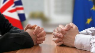 At the negotiating table