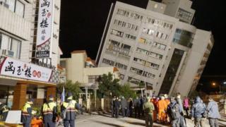 Đài Loan, động đất