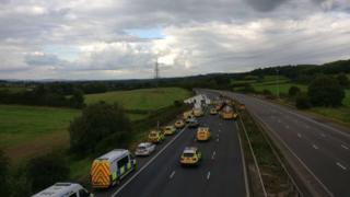 Emergency services on the M5