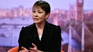 Green MP Caroline Lucas calls for all-female emergency cabinet