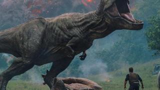 """لقطة من فيلم """"عالم الديناصورات: المملكة الساقطة"""""""