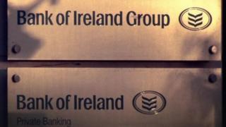 Bank of Ireland signs