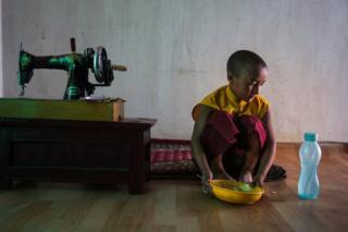 Skarma Chuksit is eight years old