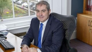Scottish Friendly chief executive Jim Galbraith