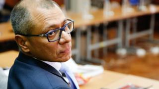 Jorge Glas in court