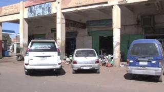 صورة بعض المحال في السودان