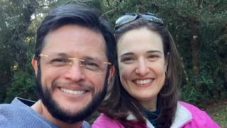 Gabriel Oliveira e esposa- arquivo pessoa