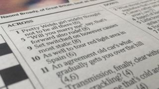 Crossword clue