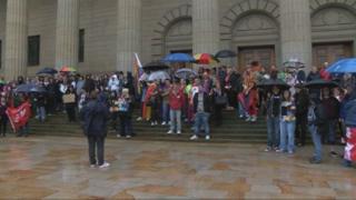 Dundee vigil