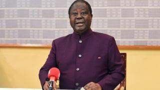 Le PDCI d'Henri Konan Bédié (en photo), bien qu'étant un allié du RDR d'Alassane Ouattara, ne veut pas du RHDP-Parti unifié, fondé avec la formation du chef de l'Etat.