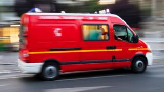French ambulance