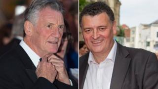 Michael Palin and Steven Moffat
