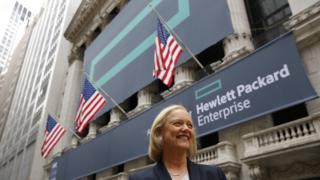 Hewlett Packard Enterprise boss Meg Whitman