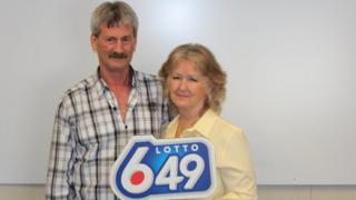 Barbara and Douglas Fink 3 Time Canadian Lottery Winners