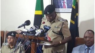 Mkuu wa Jeshi la Polisi Tanzania Simon Sirro