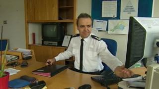 Chief Constable Shaun Sawyer