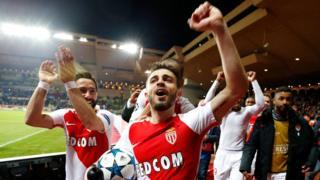 Monaco'lu oyuncular çeyrek finali getiren galibiyeti böyle kutladı