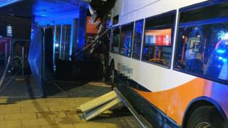 Coventry supermarket bus crash