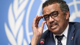 Tedros Adhanom Ghebreyesus, le Directeur Général de l'OMS