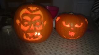 Ethan and Paige's pumpkin