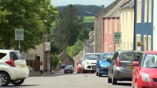 Broomgate in Lanark
