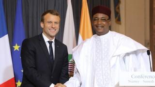 Macron,IBK,France,Niger,Sahel,terrorisme