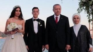 أردوغان وأزيل
