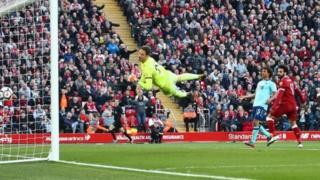 Bal din da Mohamed Salah ya ci ta 40 a wasa 45 da ya yi wa Liverpool a kakar nan