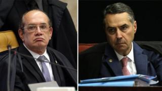 Gilmar Mendes e Luís Barroso