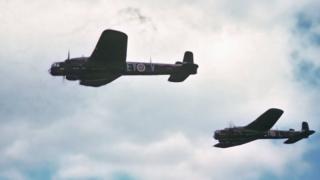 Whitley bombers
