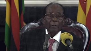Tsohon shugaba Robert Mugabe