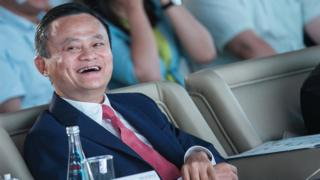 Alibaba Group Chairman Jack Ma attends a conference in China on September 5, 2018.