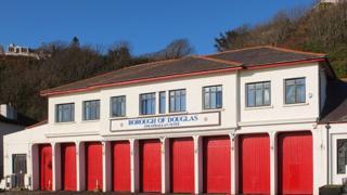 Horse Tram depot, Isle of Man courtesy Manxscenes.com