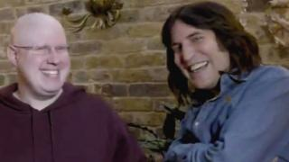 Matt Lucas and Noel Fielding