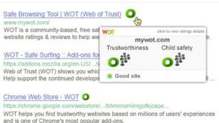 Screengrab of WoT