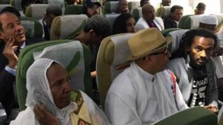 Ndege ya abiria ya Ethiopia yafanya safari ya kwanza kwenda Eritrea