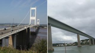 Severn Bridge and Cleddau Bridge