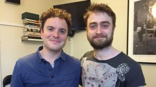 Joshua McGuire and Daniel Radcliffe