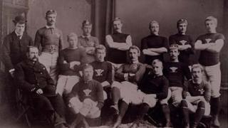Tîm rygbi Cymru yn yr 1880au
