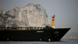 ناقلة النفط الإيرانية غريس 1