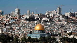 Imagem mostra vista geral de Jerusalém