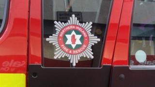 The Northern Ireland Fire and Rescue Service said the blaze started in the living room of the property