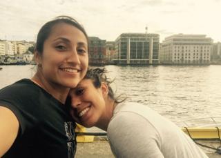 Bianca Sierra y Stephany Mayor
