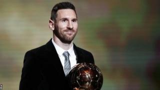 Messi ndio mshindi wa Ballon d'Or kwa mwaka 2019
