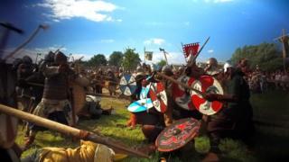 reunión vikinga en Wolin