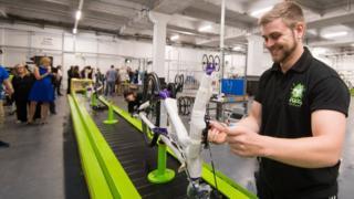 Frog Bikes new factory has opened in Pontypool