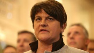 The DUP leader Arlene Foster was enterprise minister when she set up the botched RHI scheme in 2012