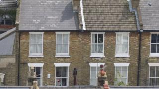 terraced houses in London