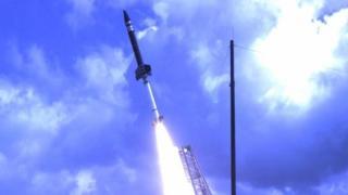 Terrier Oriole rocket